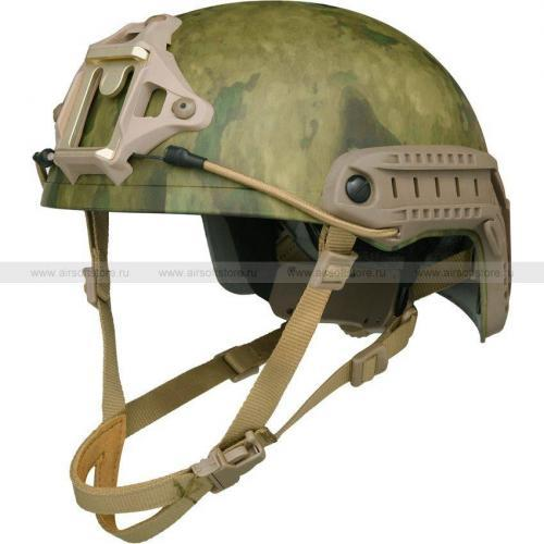 Шлем Fast XP High Cut Helmet (FMA) (Мох)