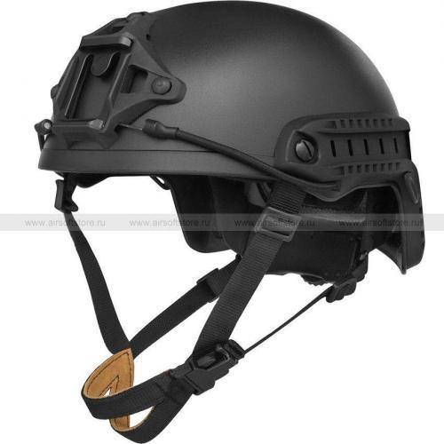 Шлем Fast XP High Cut Helmet (FMA) (Black)