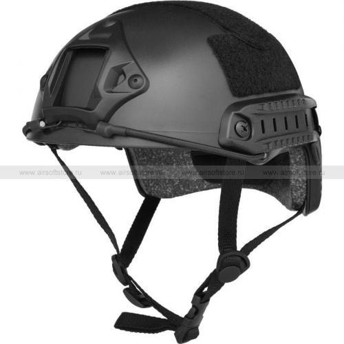 Шлем Fast MH Tactical Helmet (Black)