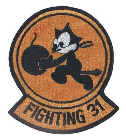 Шеврон M.F.H MFH Fighting-31 арт. 36301Е 9,5х11 см